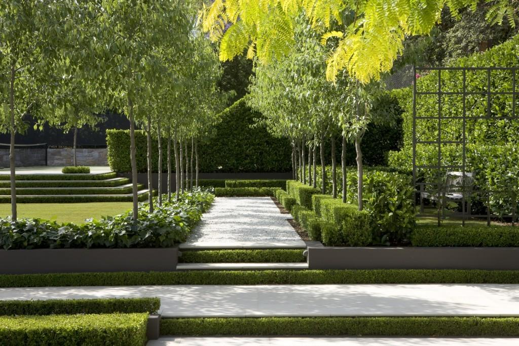 Magnificent Contemporary Sydney Residence Garden Landscape That