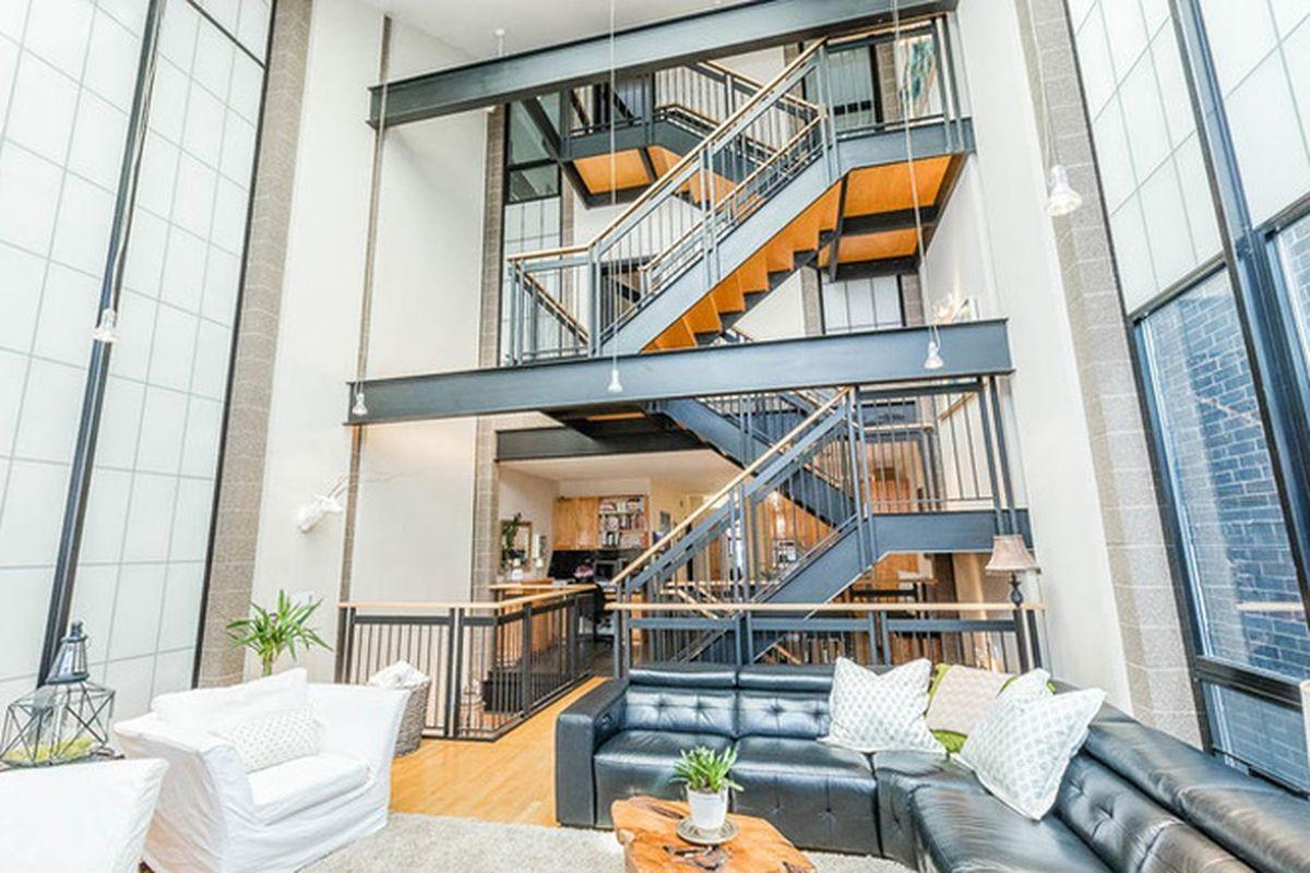 Contemporary Lincoln Park Mansion Dramatic Steel