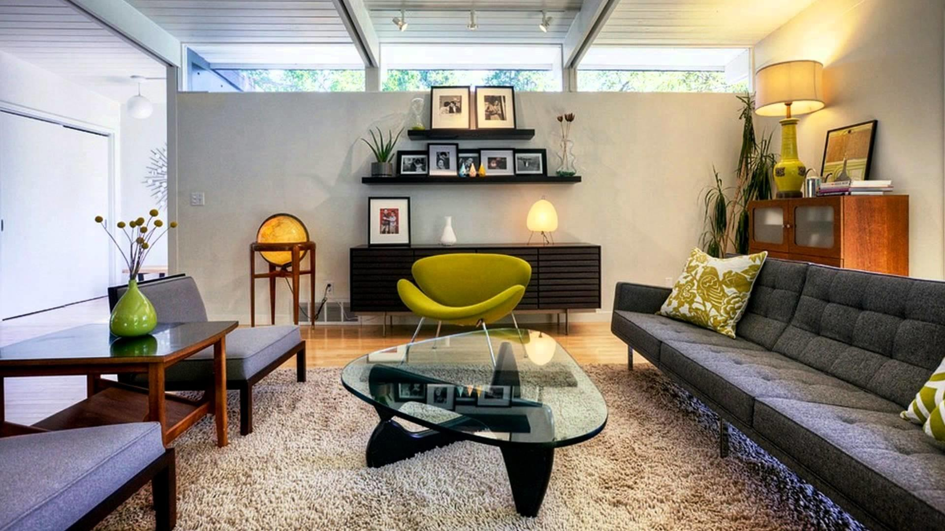 Contemporary Living Ideas Mid Century Modern Style