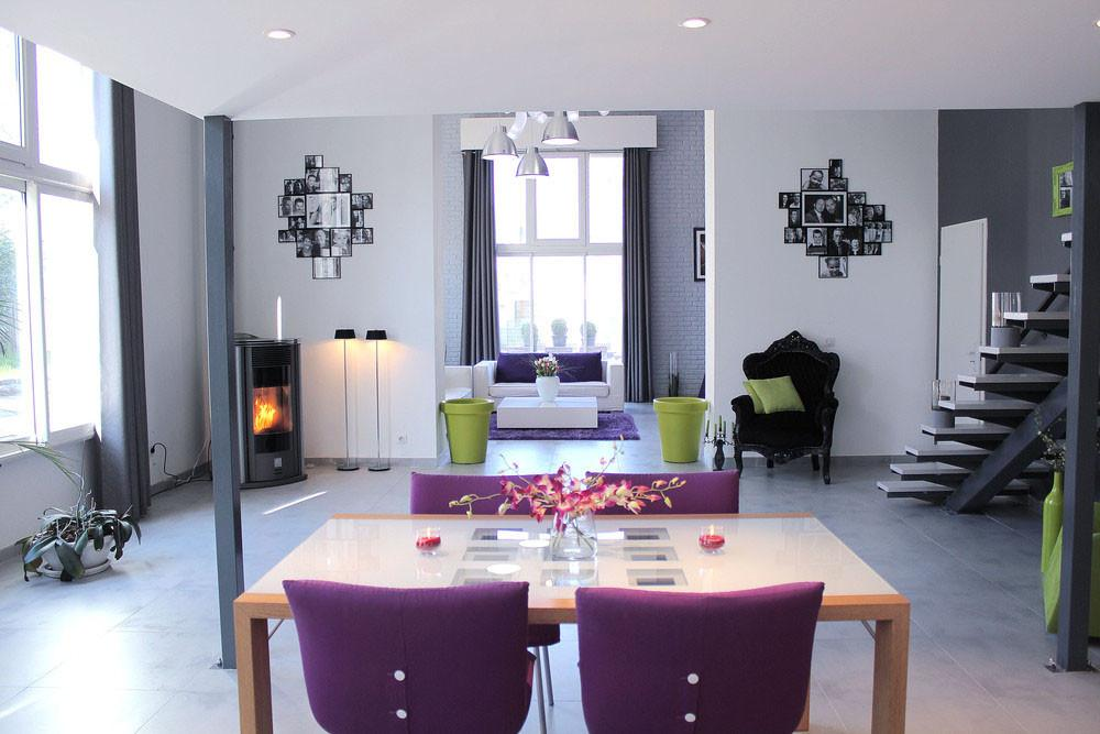 Contemporary Loft Apartment Old Chateau France