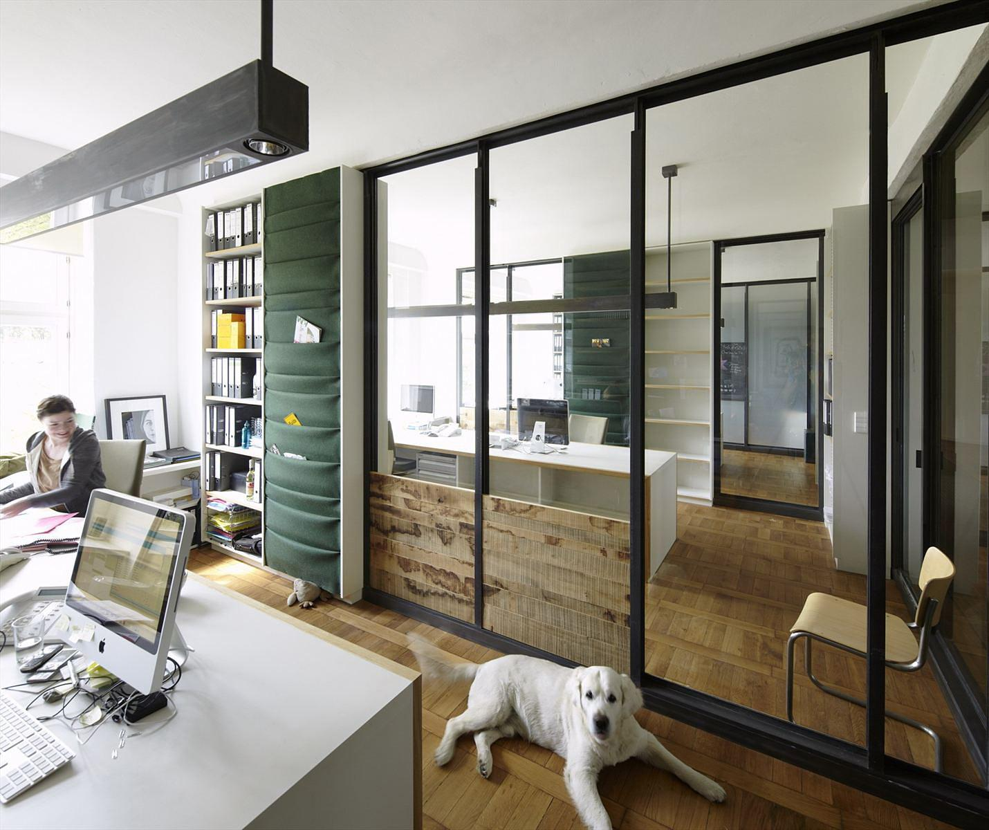 Contemporary Office Interior Minimalist Decor Decosee