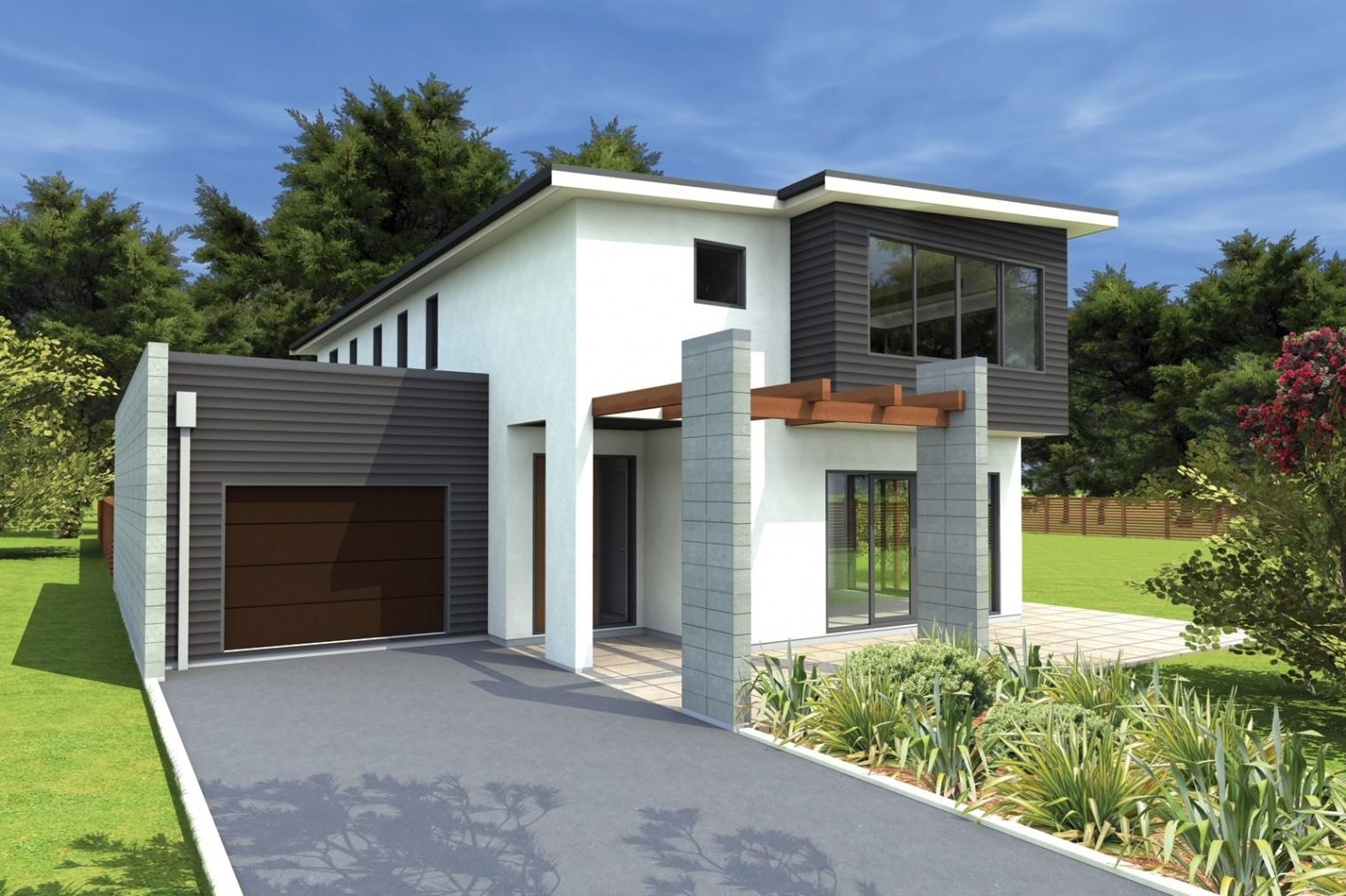Contemporary One Story House Search Townhouse