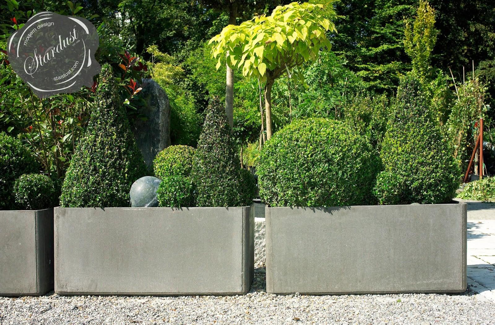 Contemporary Outdoor Planters Great Ideas Modern