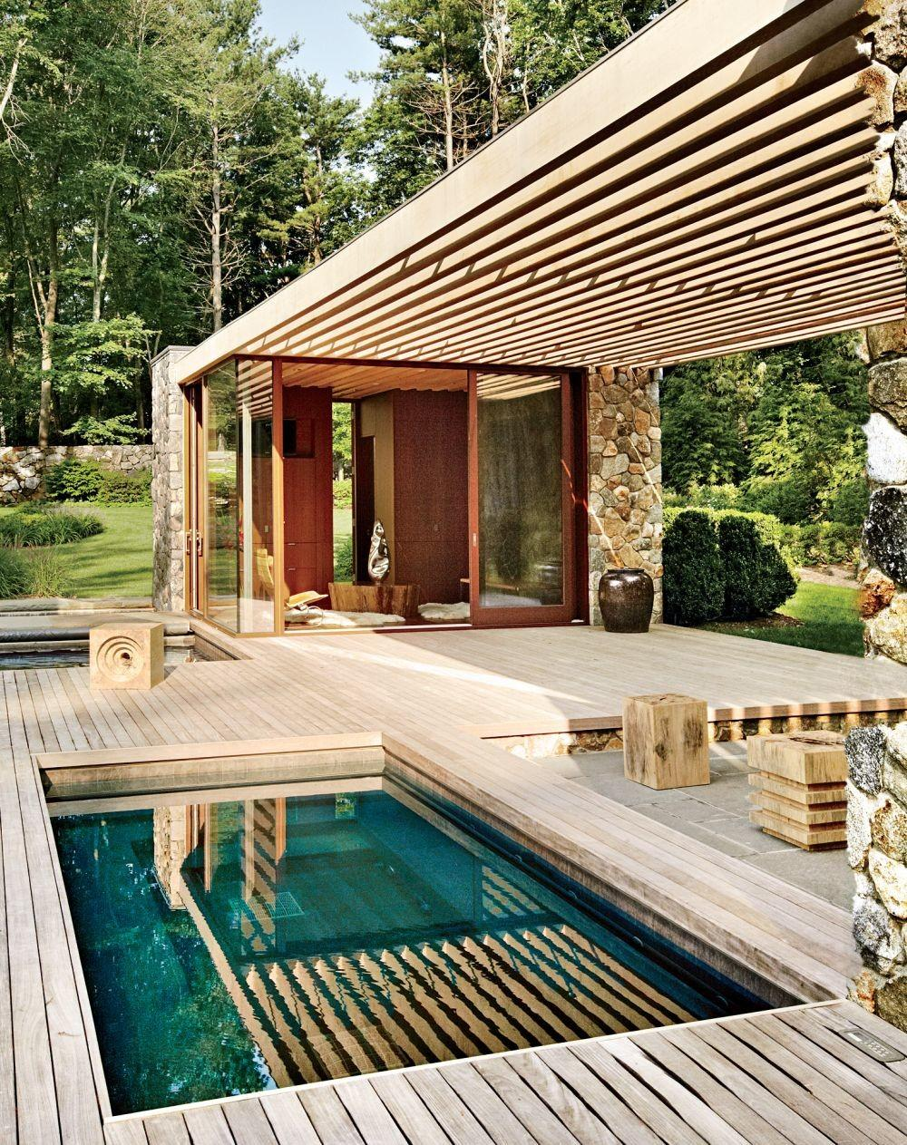 Contemporary Outdoor Space Span Architectural Digest