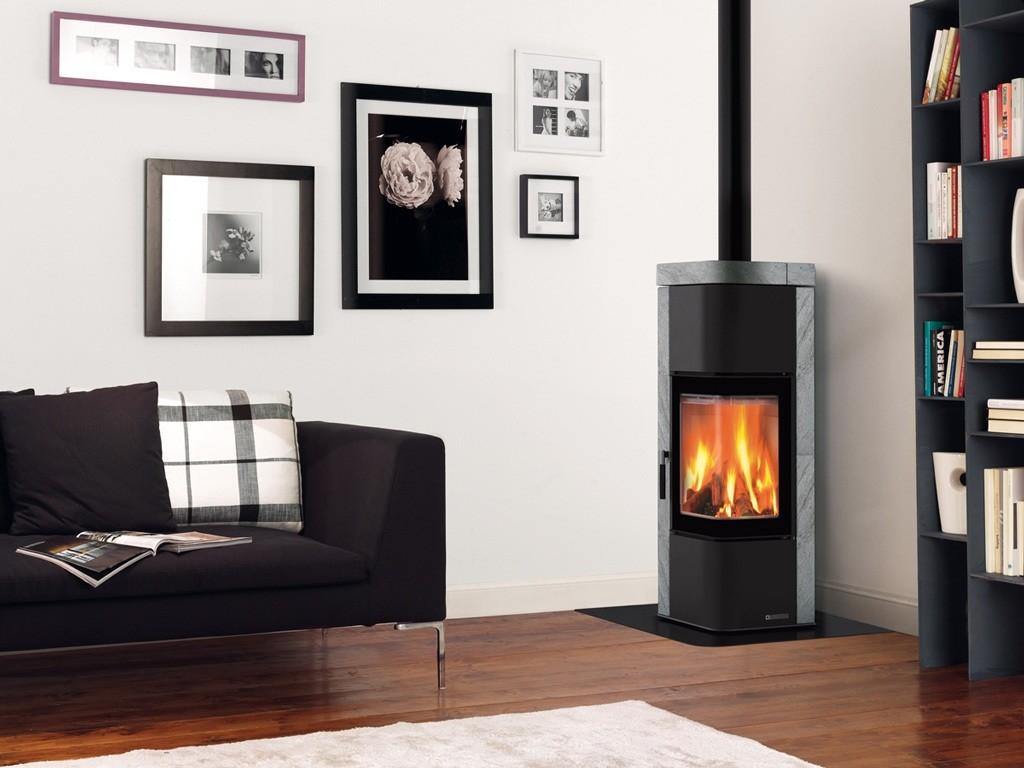 Contemporary Pellet Stove Insert Decosee