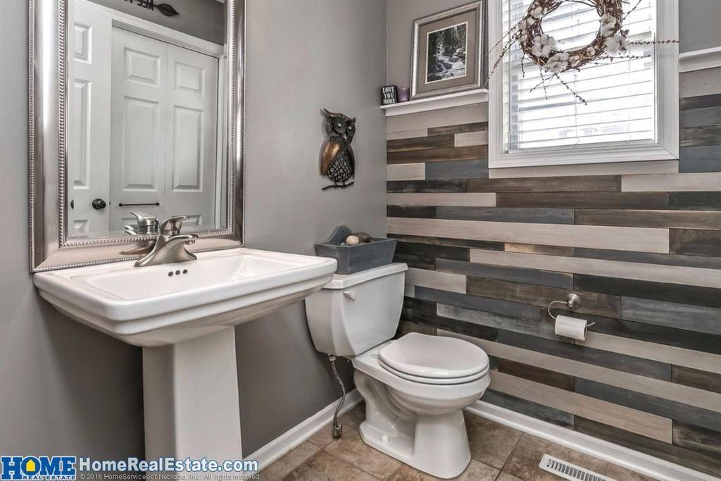Contemporary Powder Room Lincoln Zillow Digs