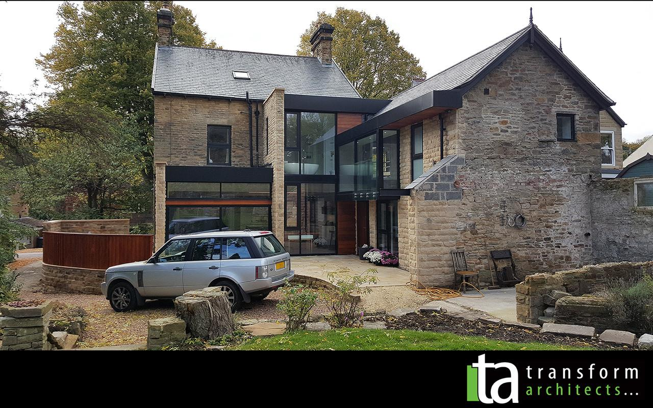 Contemporary Rear Extensions Internal Alterations