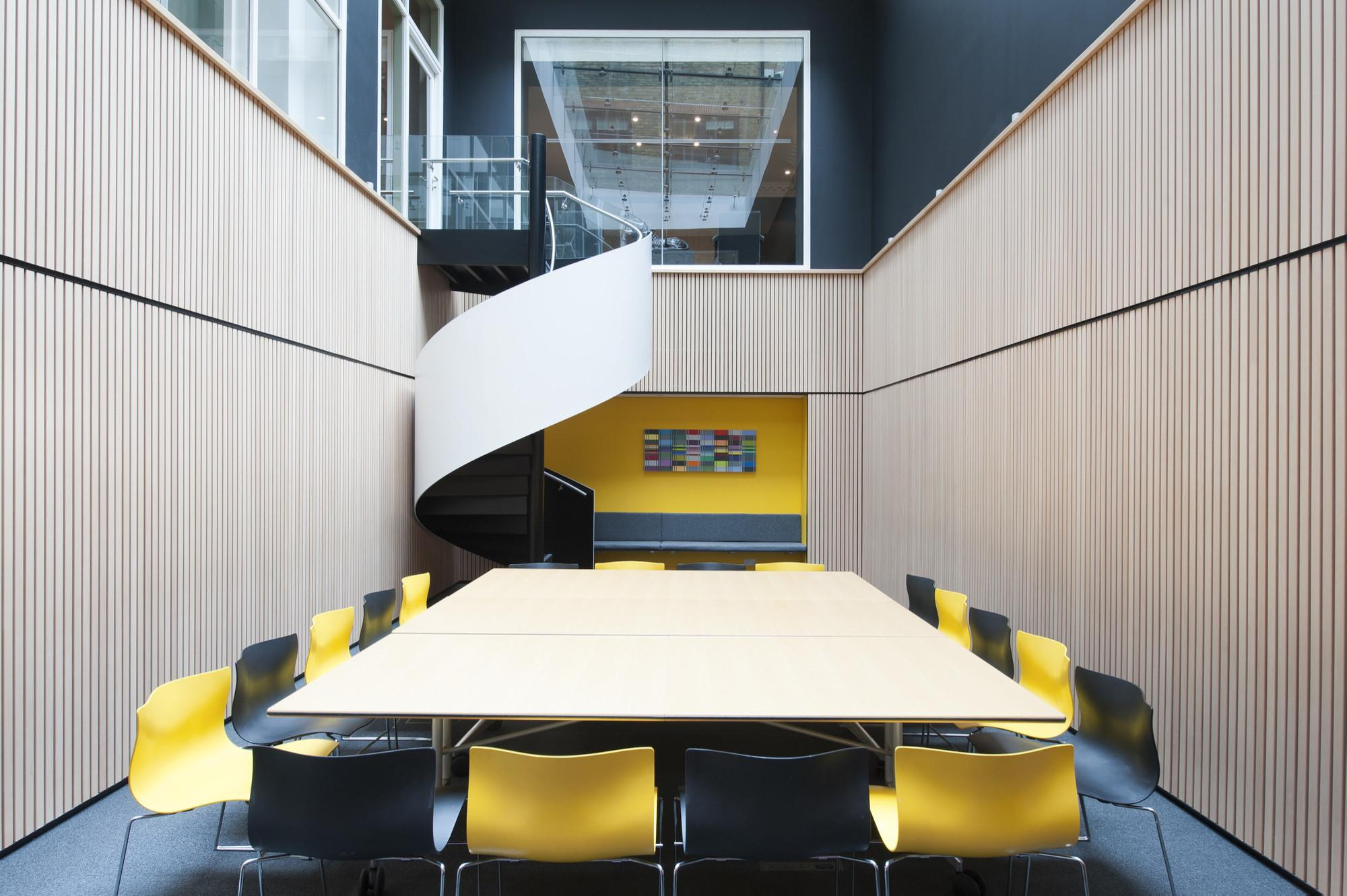 Contemporary Renovation Classic Mayfair Office