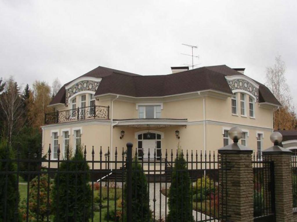 Contemporary Russian House Design Artistic Ceramic