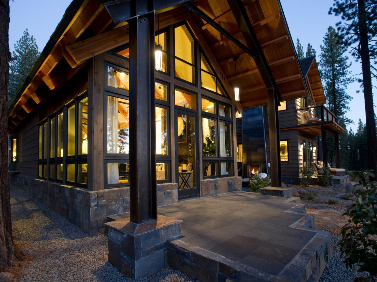 Contemporary Rustic Homes Trends Modern