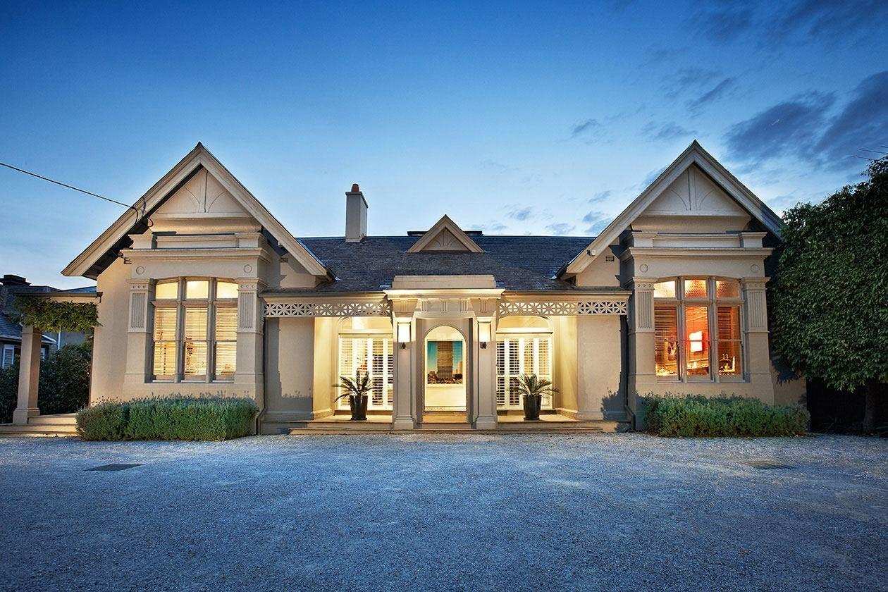 Contemporary Side Victorian House Designed