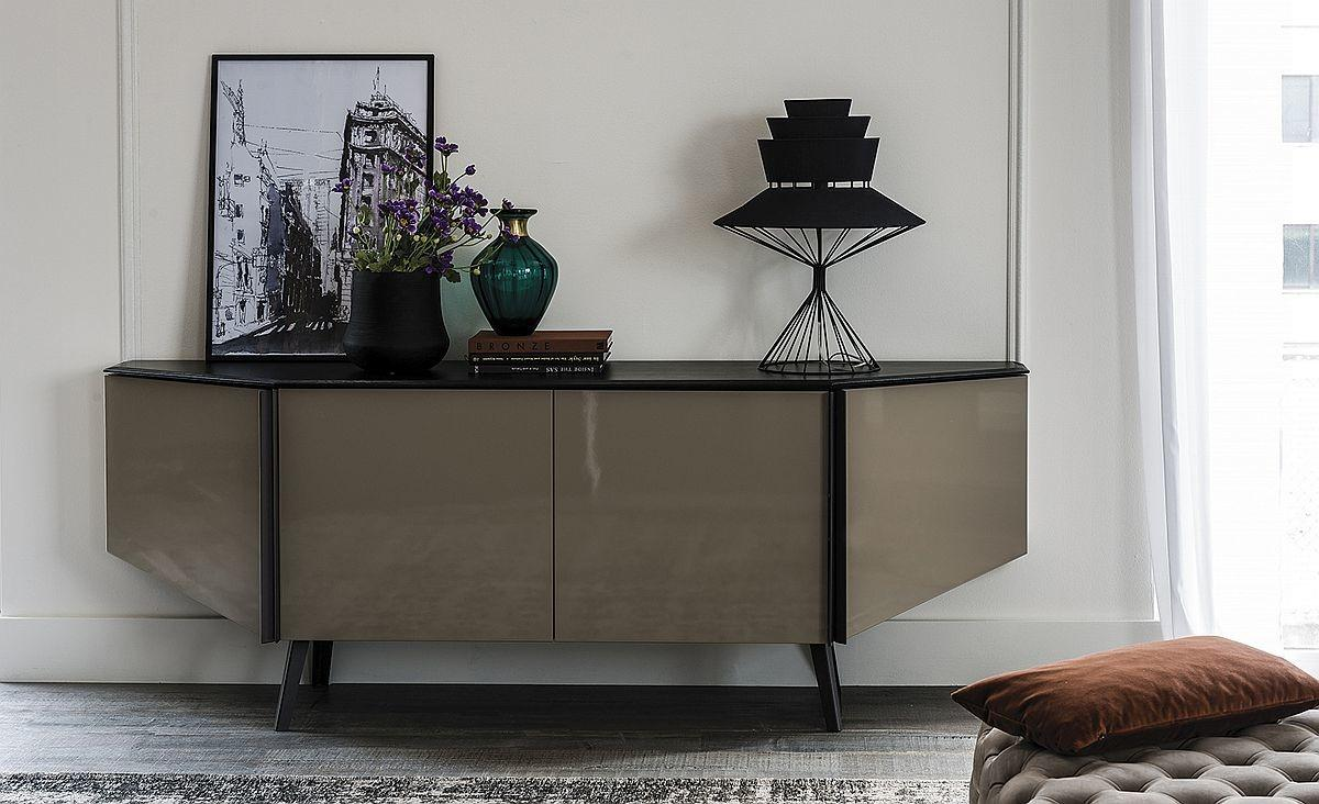 Contemporary Sideboard Four Doors Cattelan
