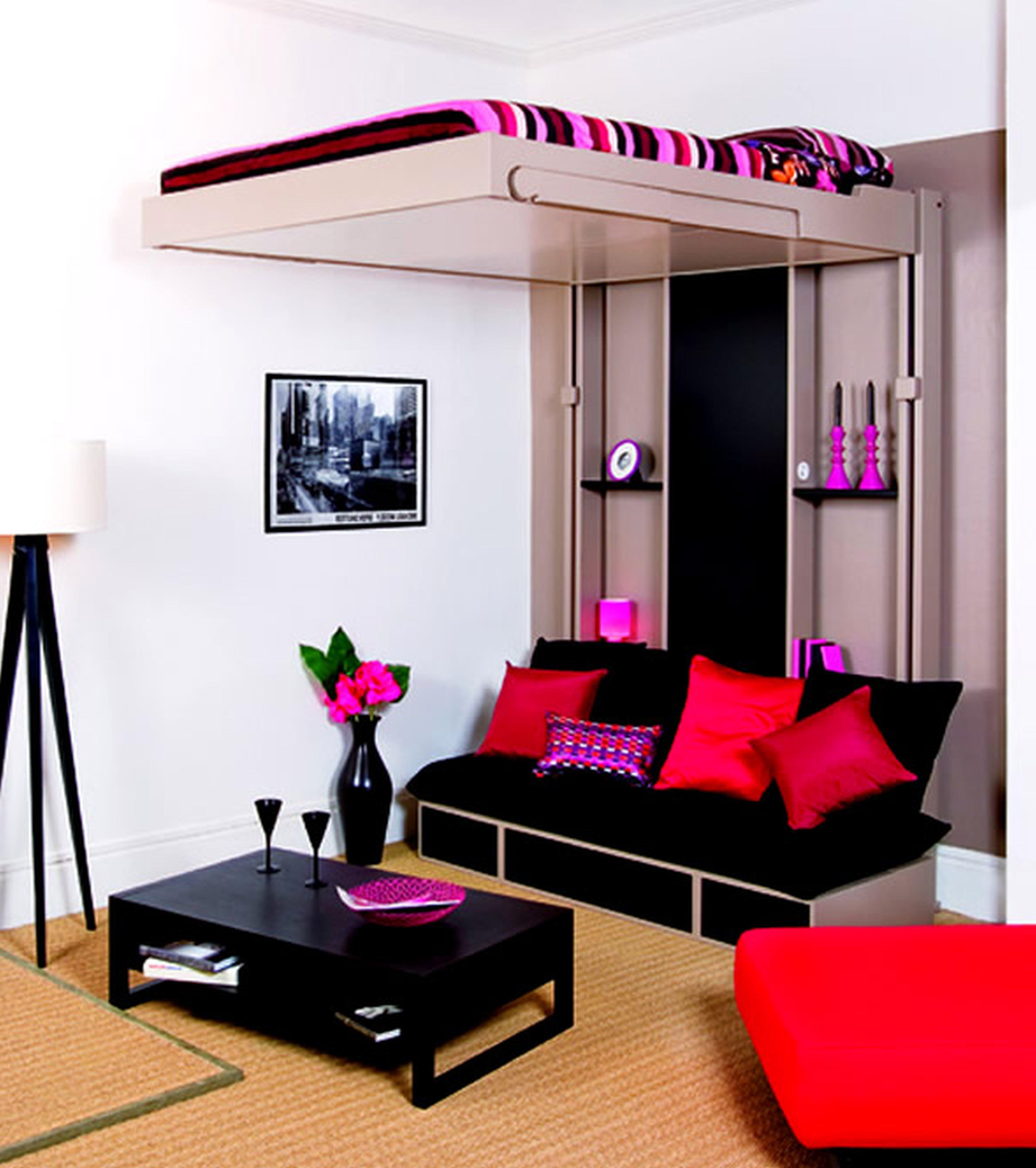Contemporary Teenage Girl Teen Boy Beds Room Design