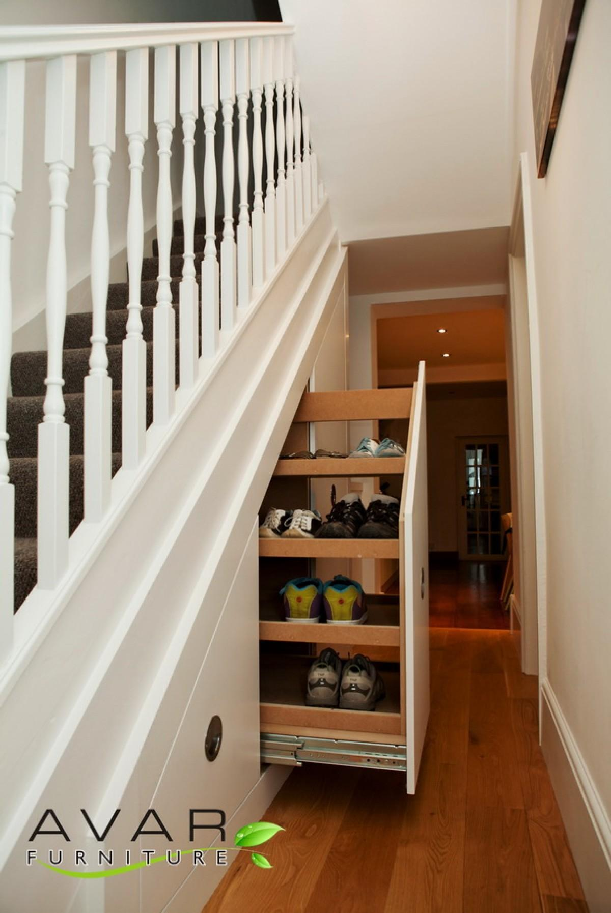 Contemporary Traditional Stair Ideas Home