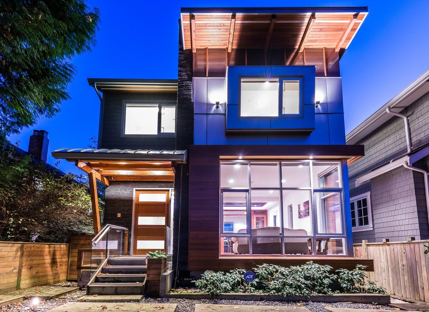 Contemporary Vancouver West Side Modern House Sale