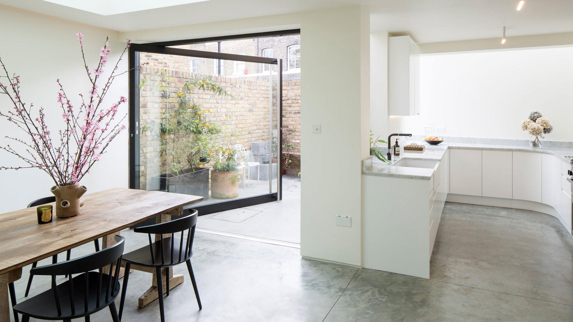 Contemporary Victorian House Extension Columbia Road