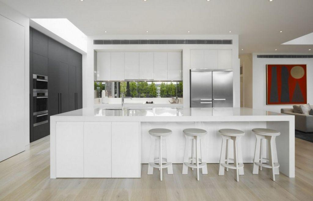 Contemporary White Kitchens Ideas