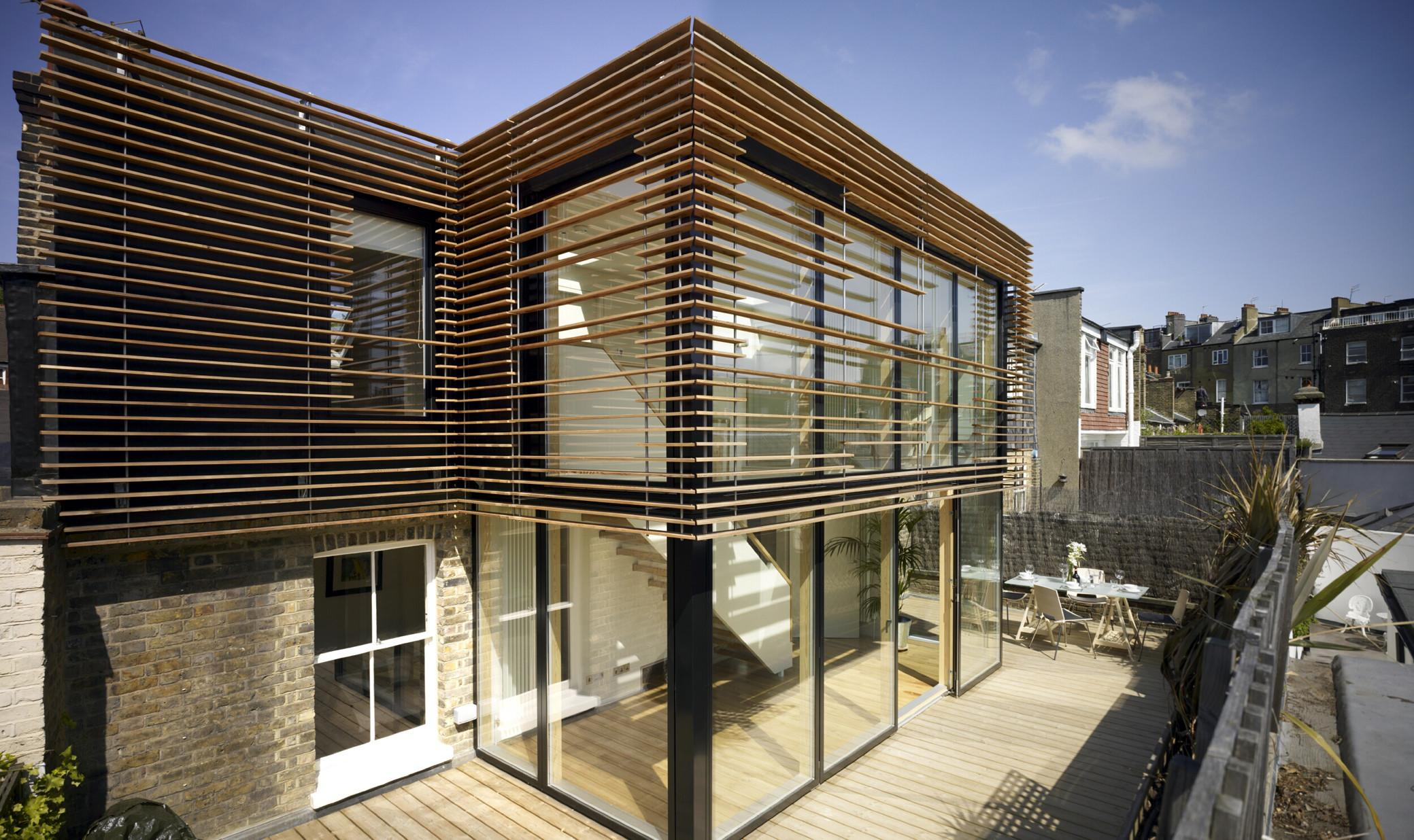 Contemporary Wood Cladding Buybrinkhomes