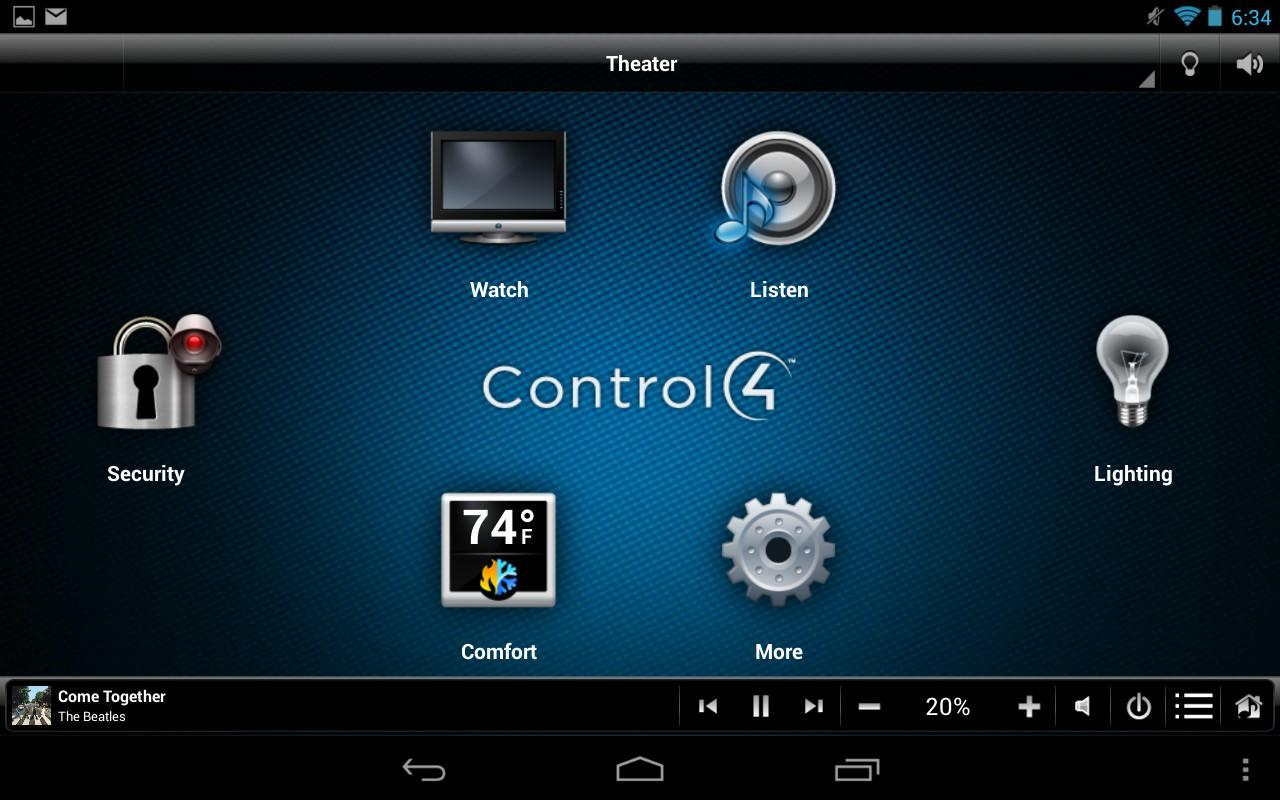 Control4 Myhome Android Apps Play