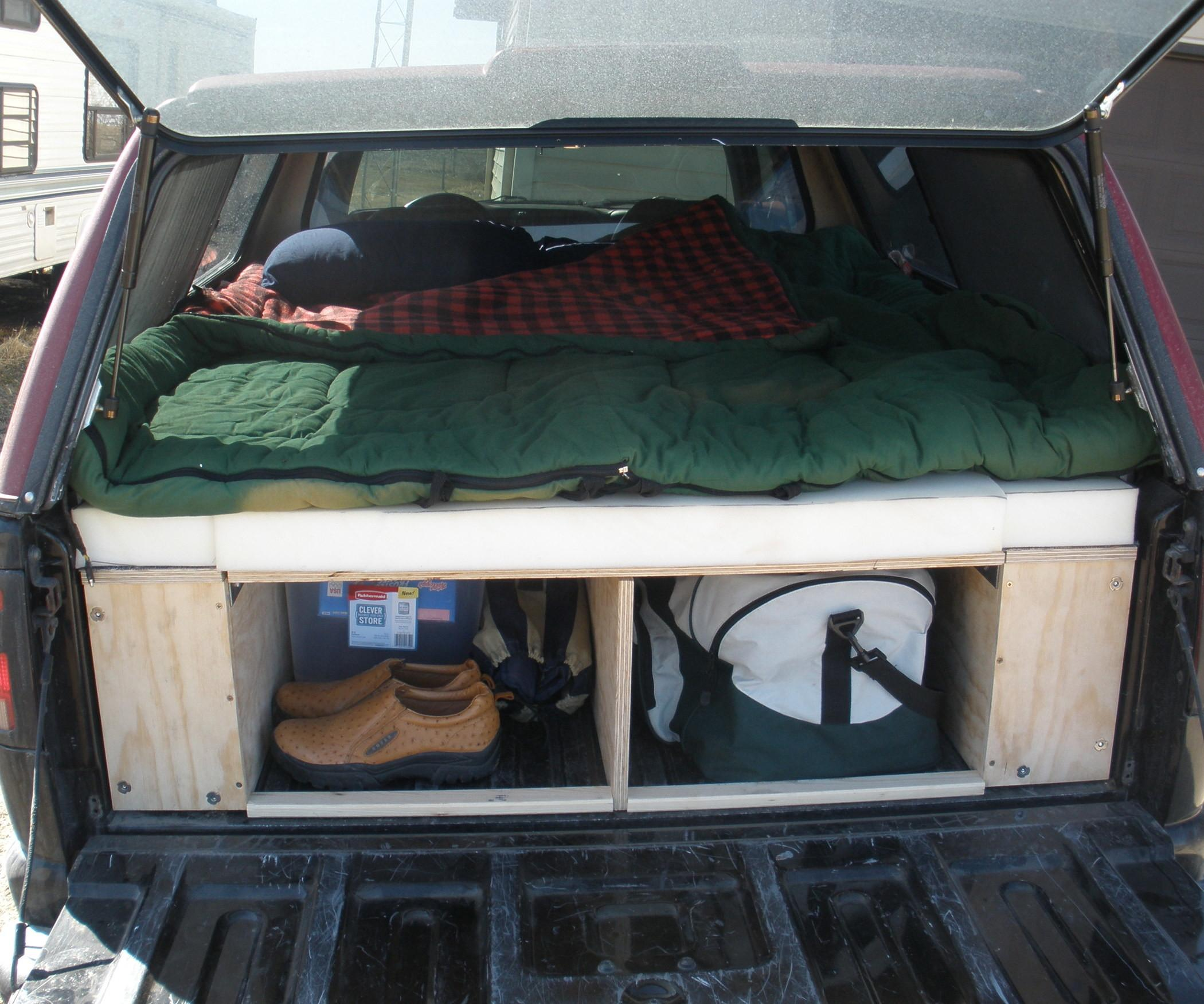 Convert Your Truck Into Camper