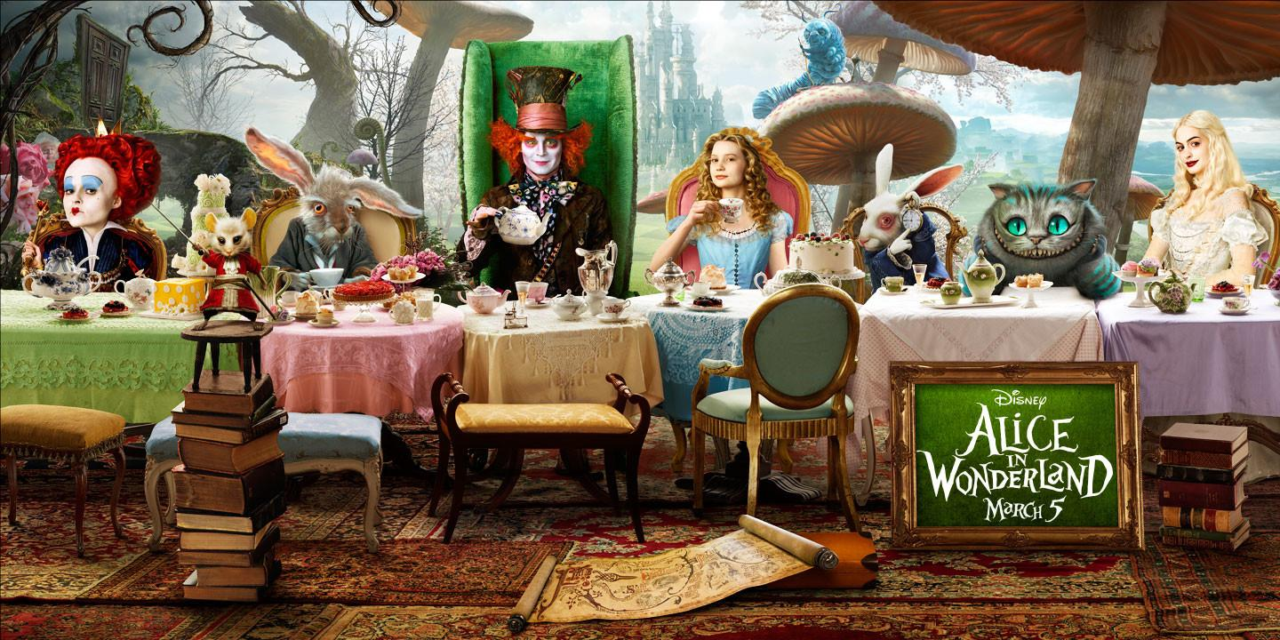 Cook Create Consume Alice Wonderland Sweet Sixteen