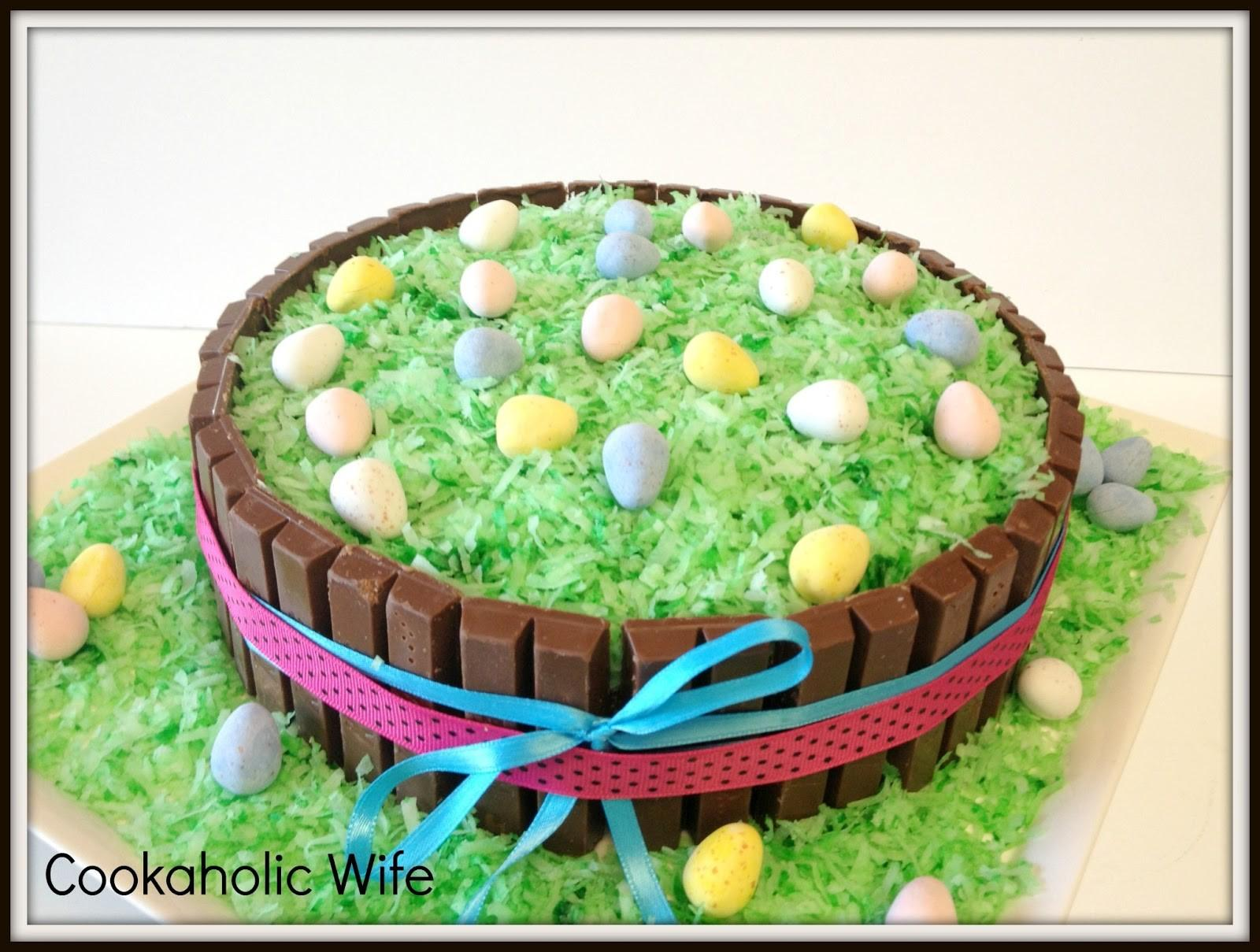 Cookaholic Wife Src Easter Kit Kat Cake