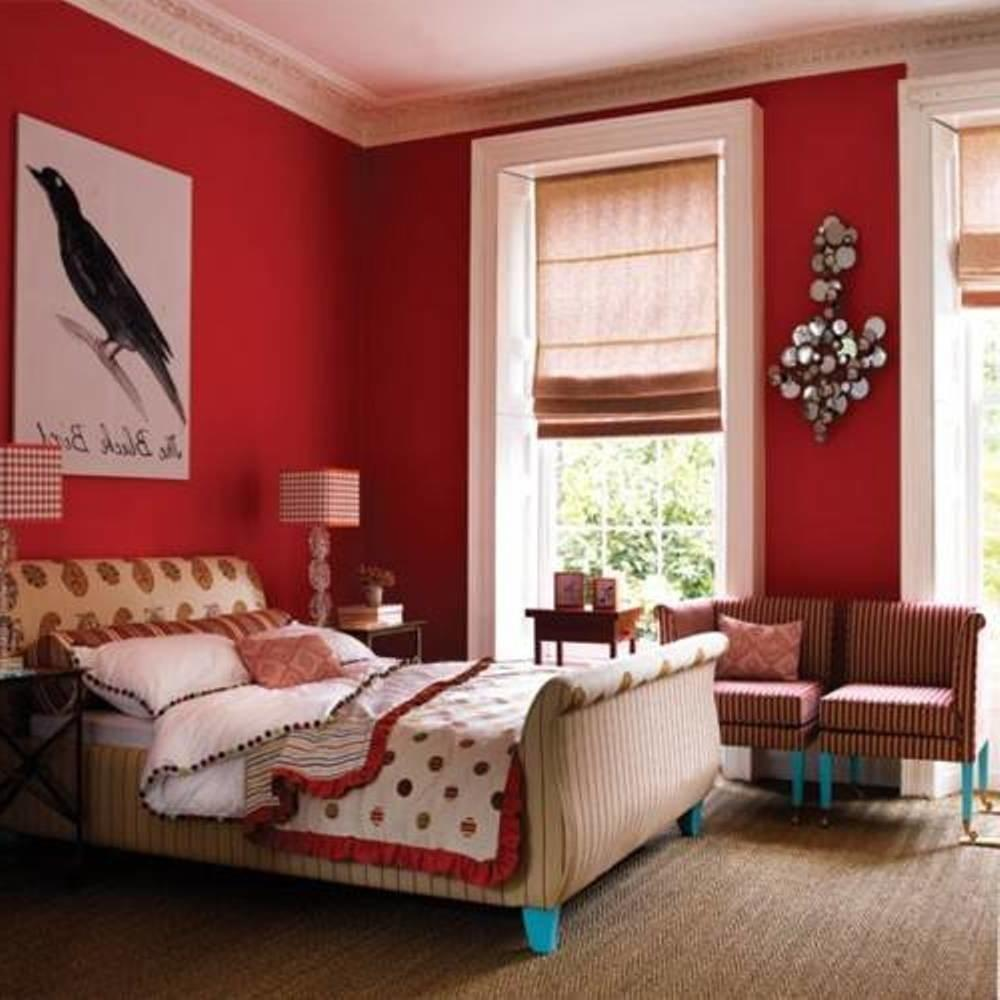 Cool Bedroom Color Ideas Wlav Red