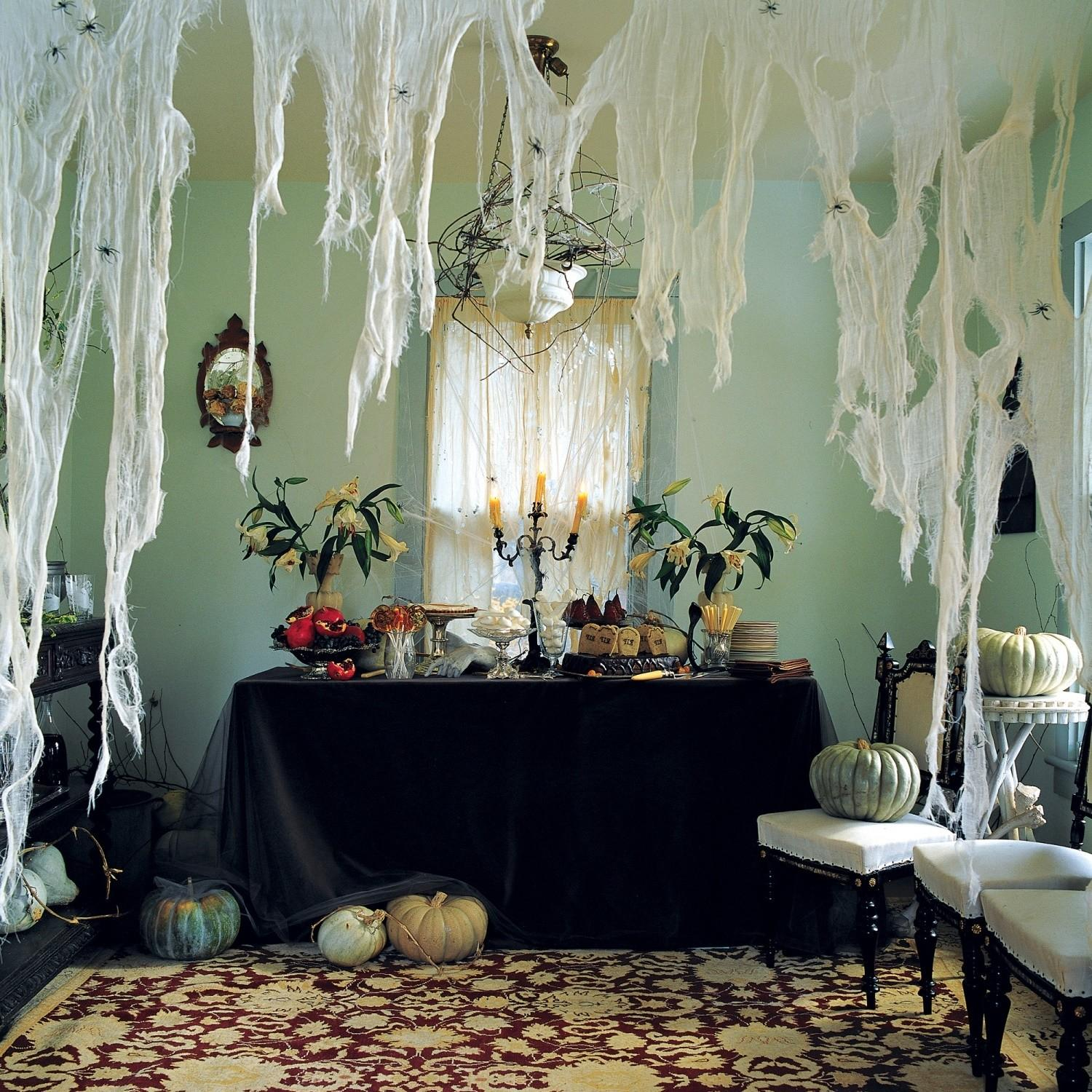 Cool Design Ideas Creative Home Halloween Party Decorating