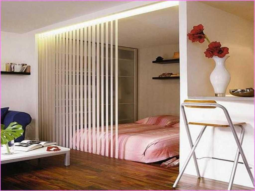 Cool Divider Teen Bedroom Plan Ideas Pink Striped