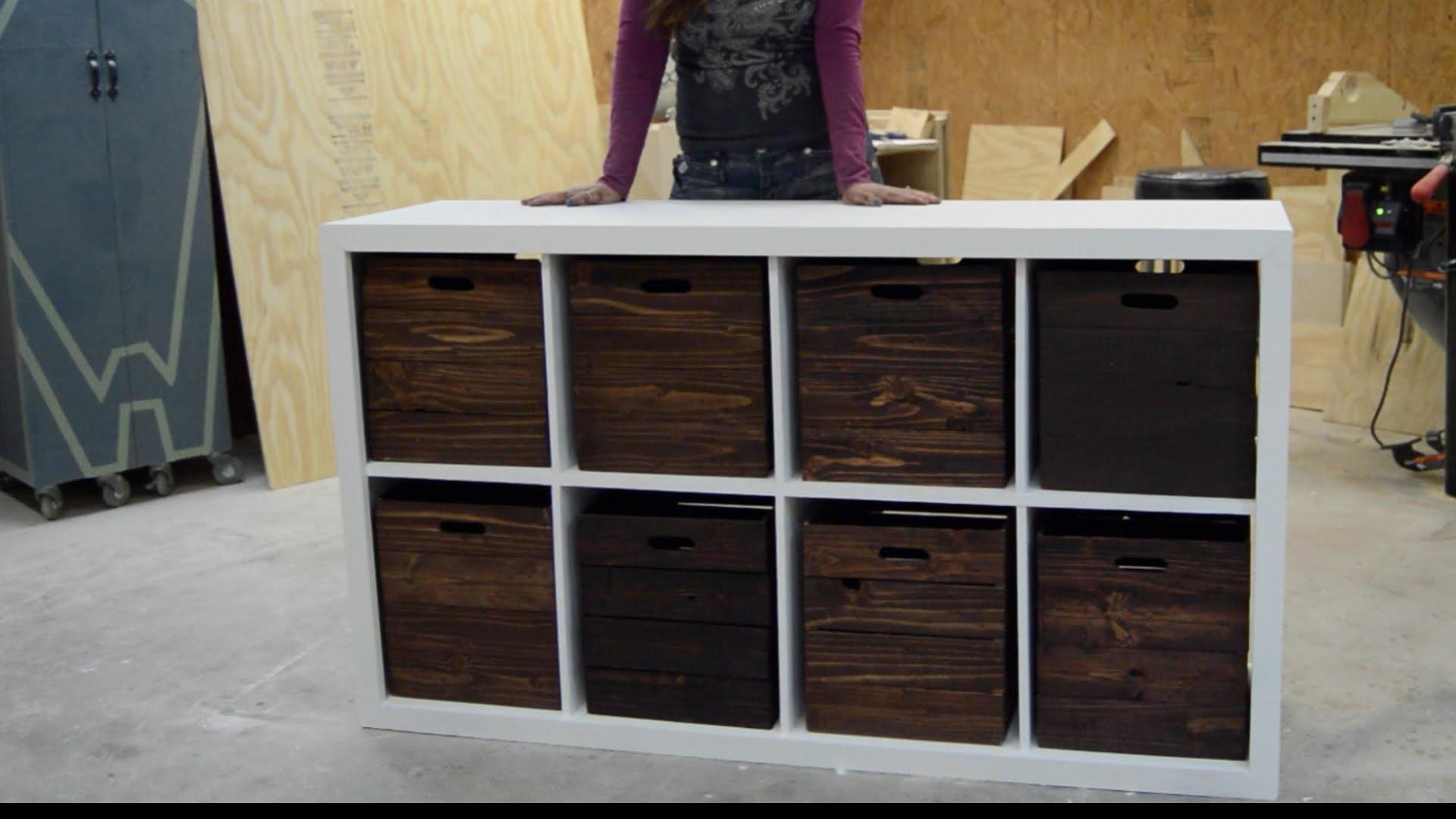 Cool Diy Toy Box Projects Kidsomania Numbered Storage