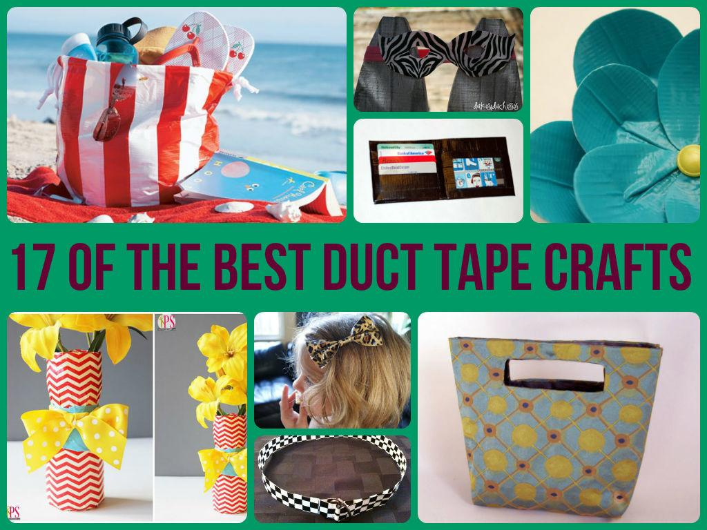 Cool Duct Tape Crafts Imgkid Kid Has