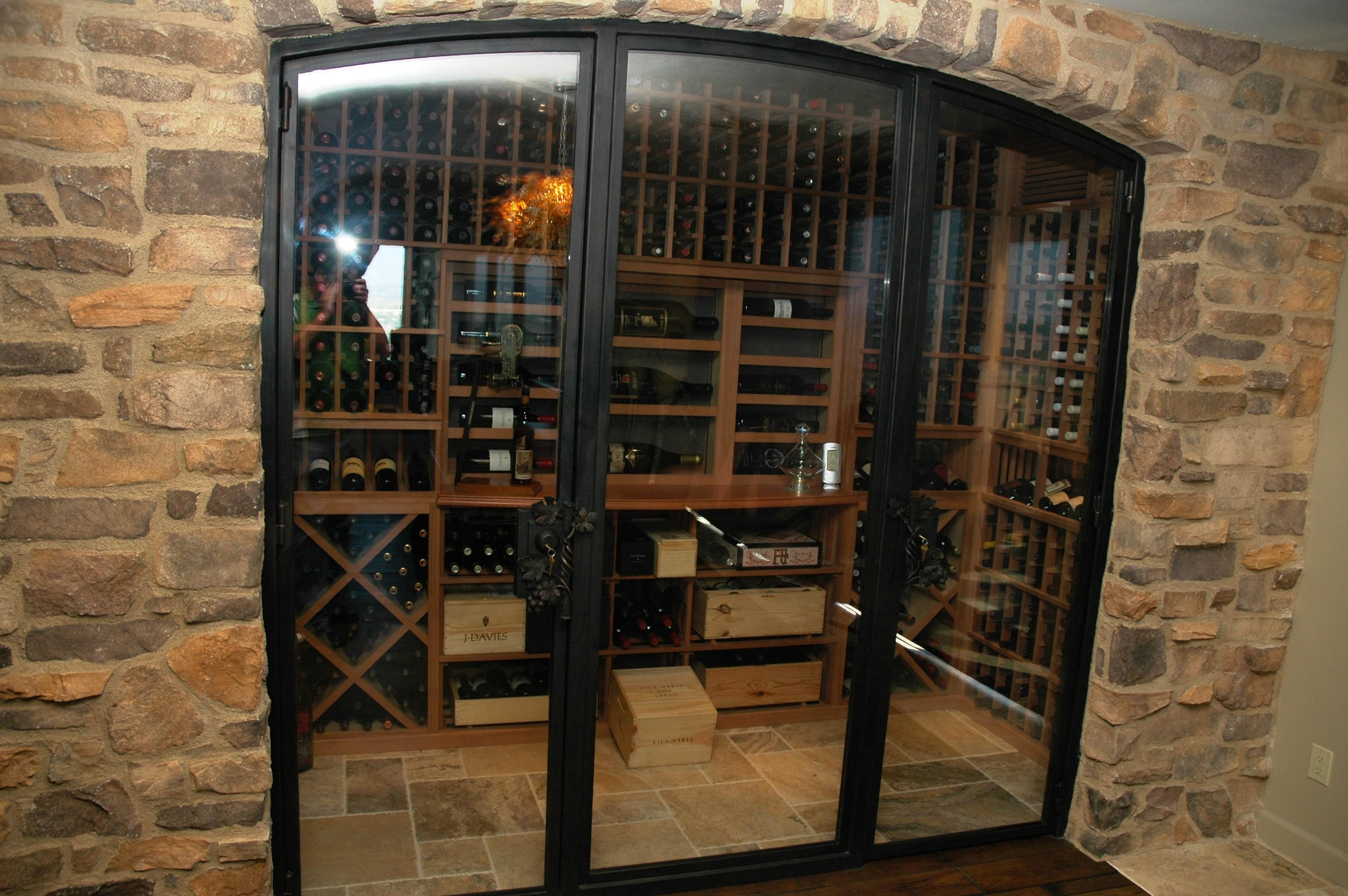 Cool Eight Inspiring Wine Cellar Designs Any