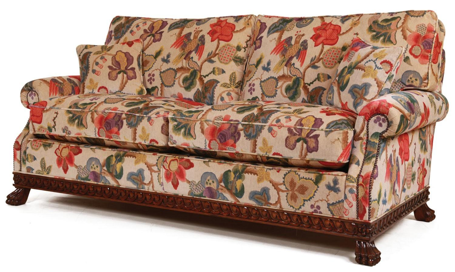 Cool Floral Print Fabric Sofas Designs Colors Modern
