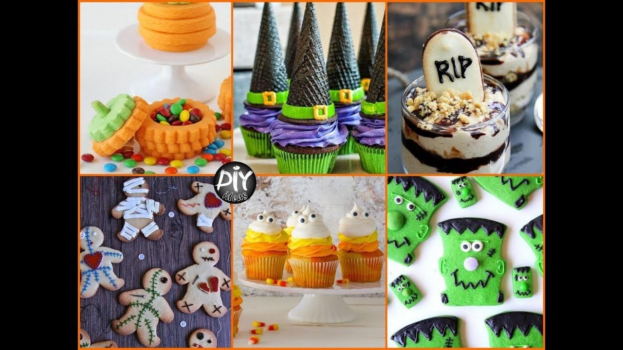 Cool Halloween Treats Desserts Ideas Diy
