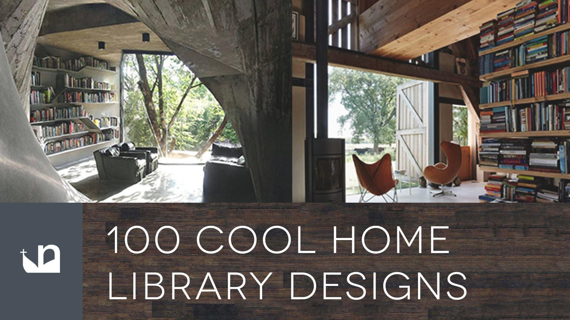 Cool Home Library Designs Reading Room Ideas Idolza