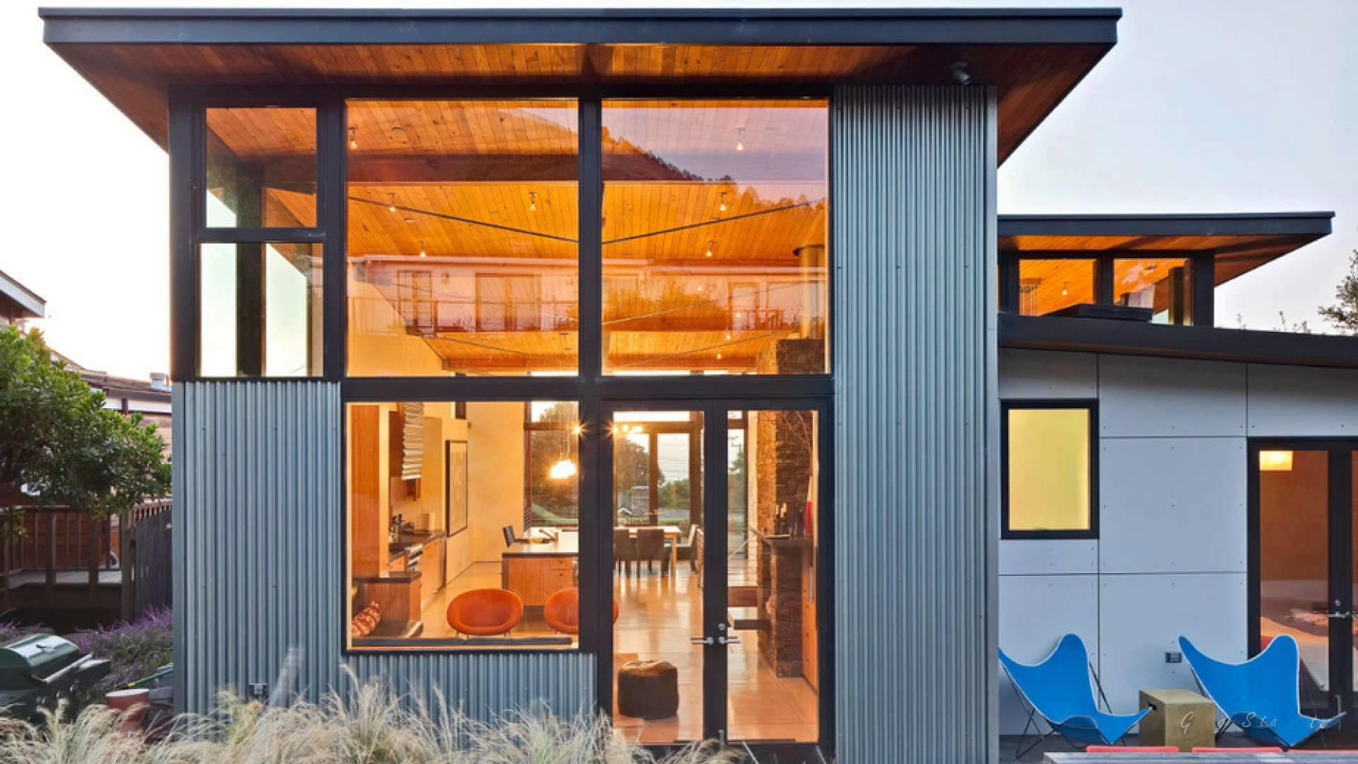 Cool Houses Covered Steel Metal Homes