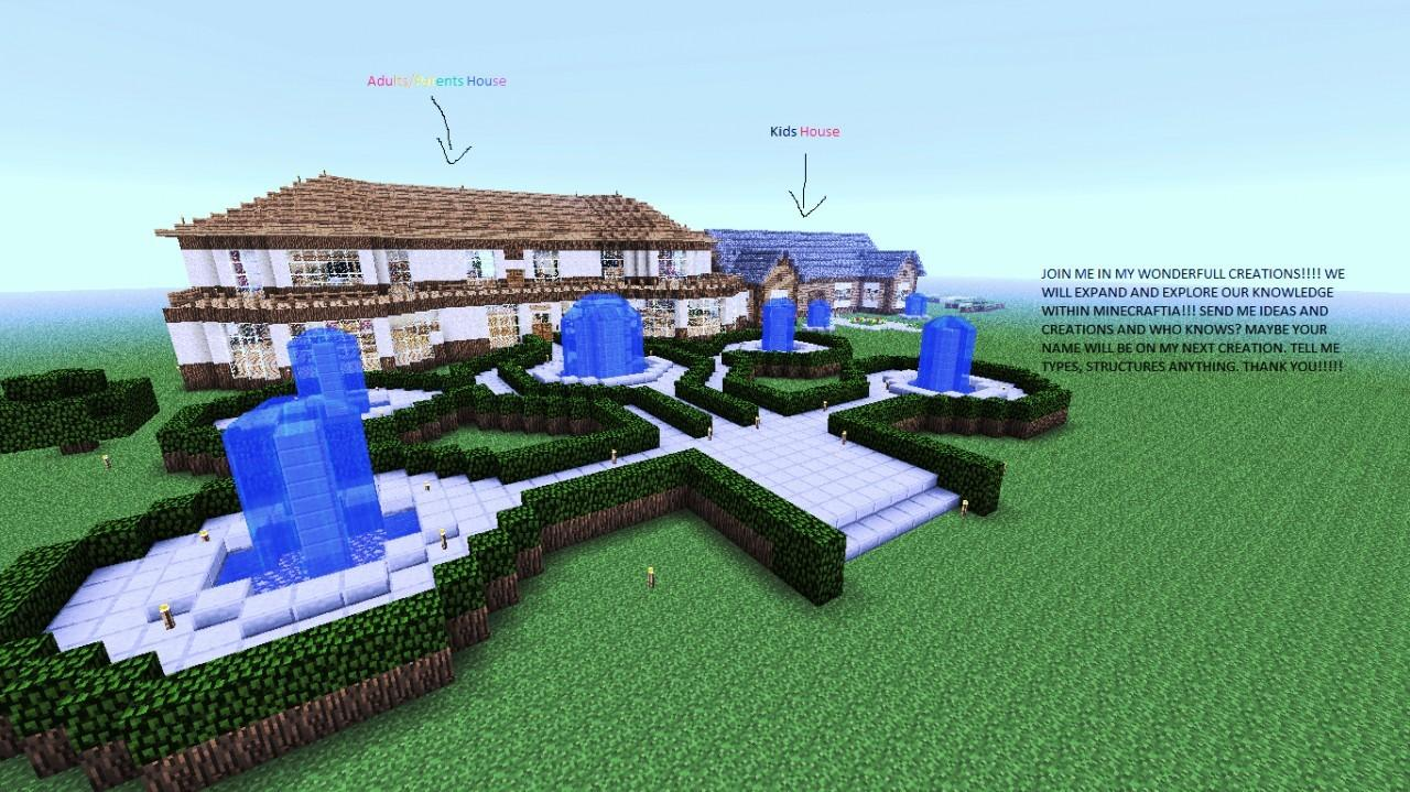 Cool Houses Minecraft Project