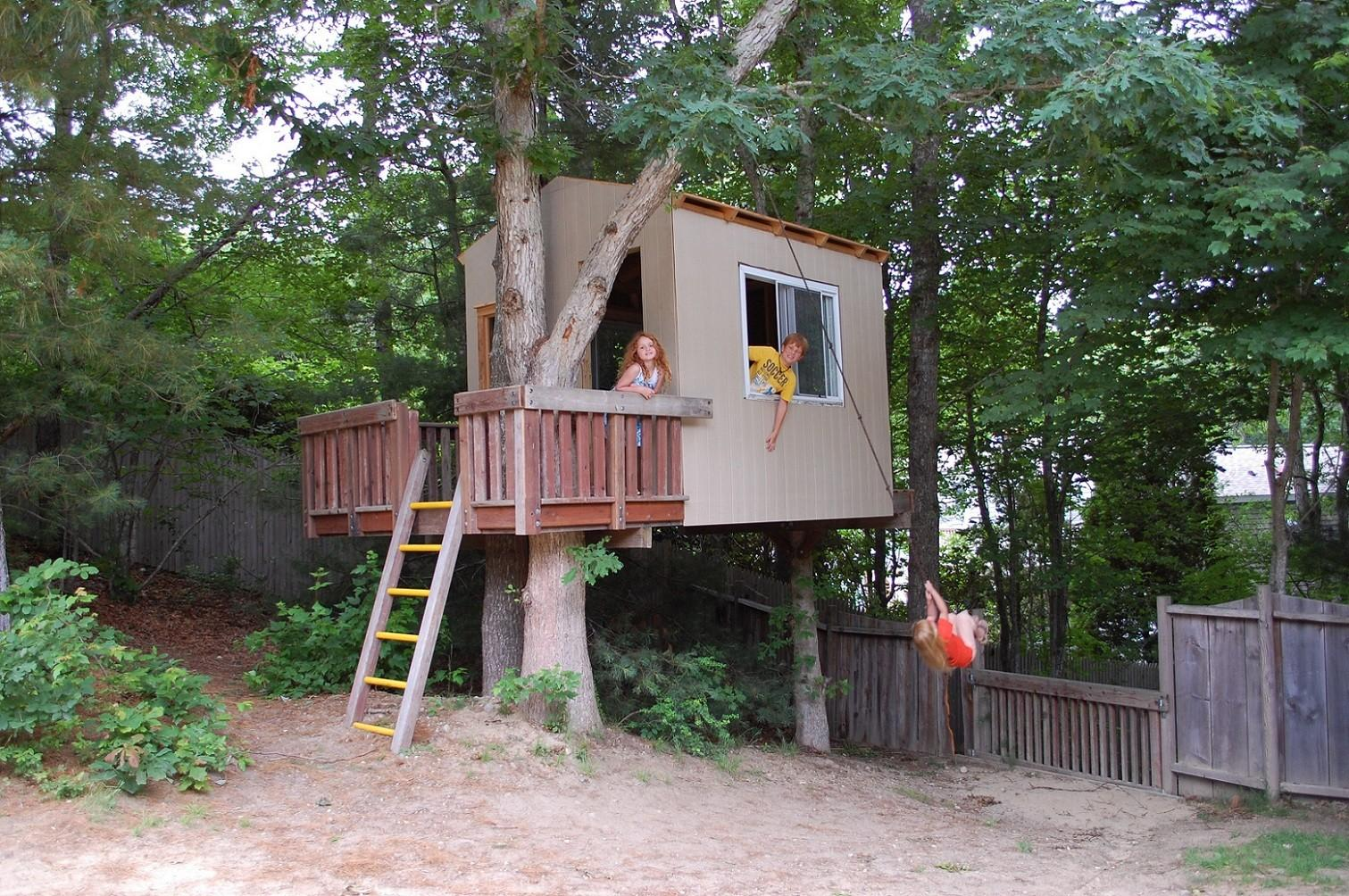 Cool Kids Tree Houses Designs Coolest