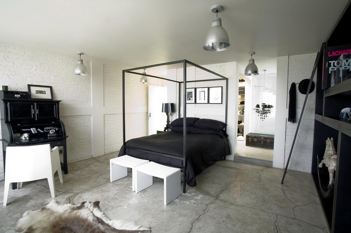 Cool Marble Under Single Bed Beside Table Lamp
