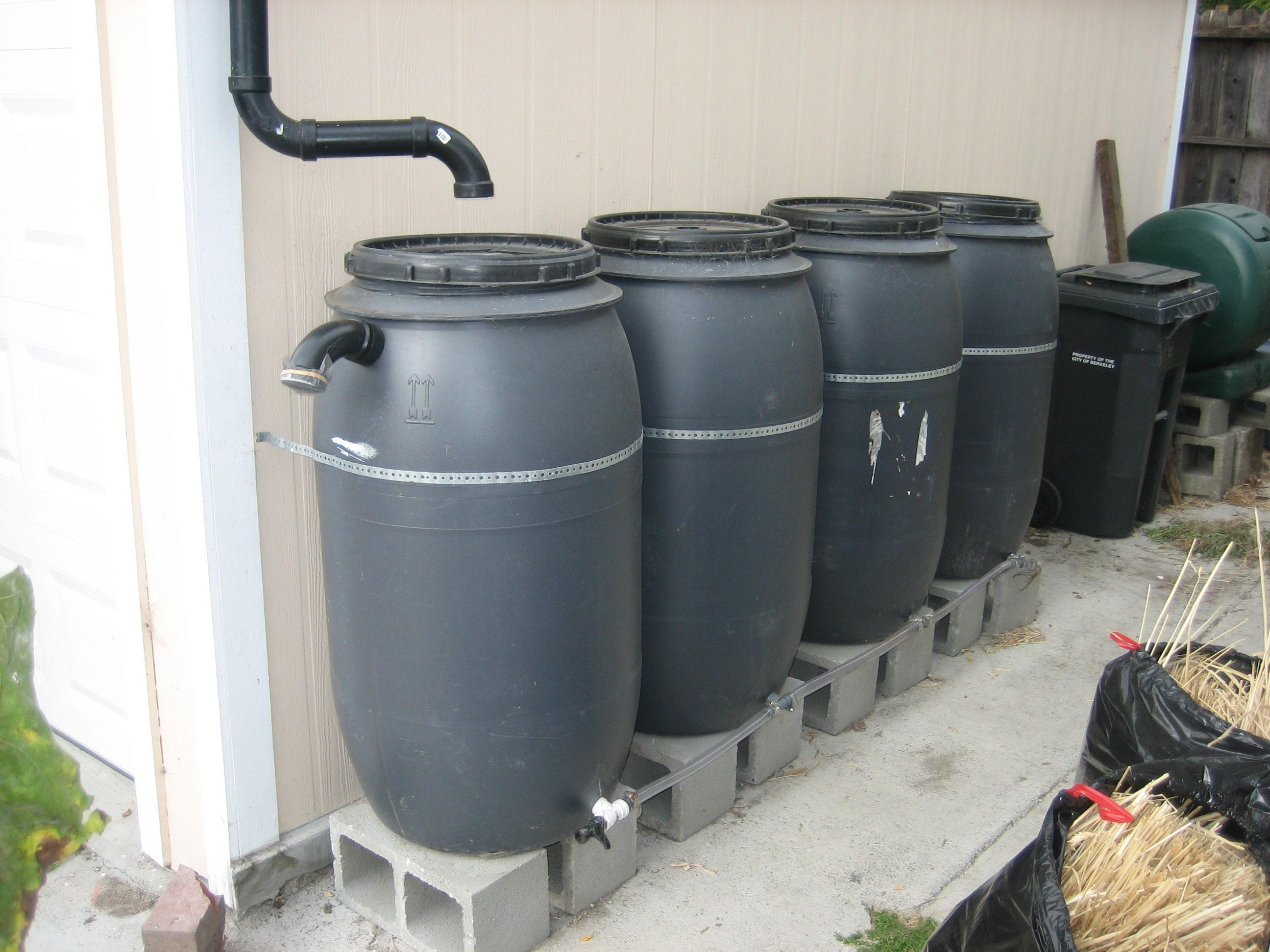 Cool Rainwater Collection Systems Ready Tribe