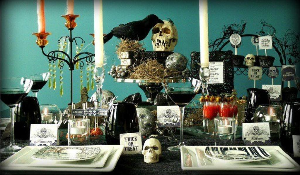 Cool Spooky Halloween Table Decorations Let Party