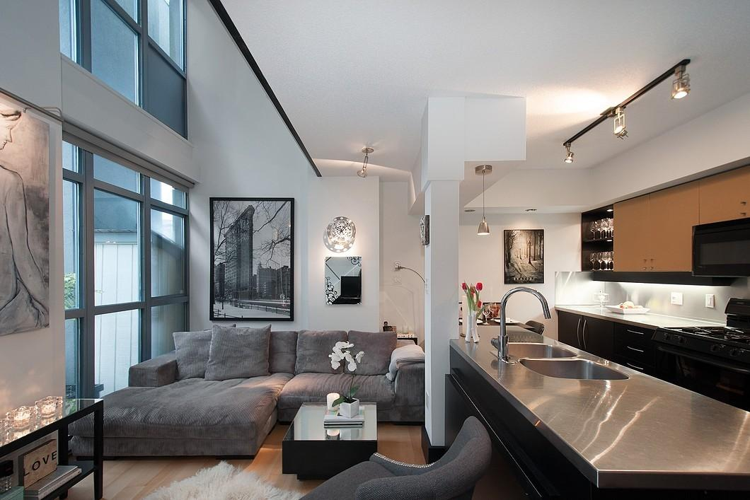 Cool Yaletown Loft Vancouver Idesignarch Interior