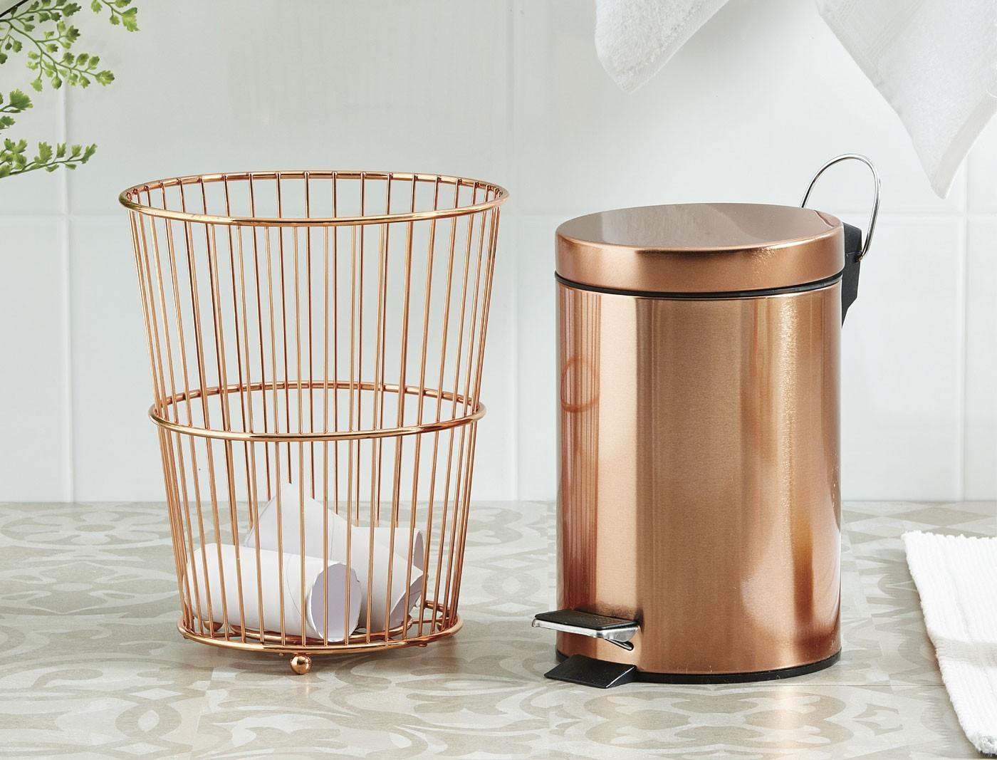 Copper Soho Bathroom Accessories Bed Bath Table