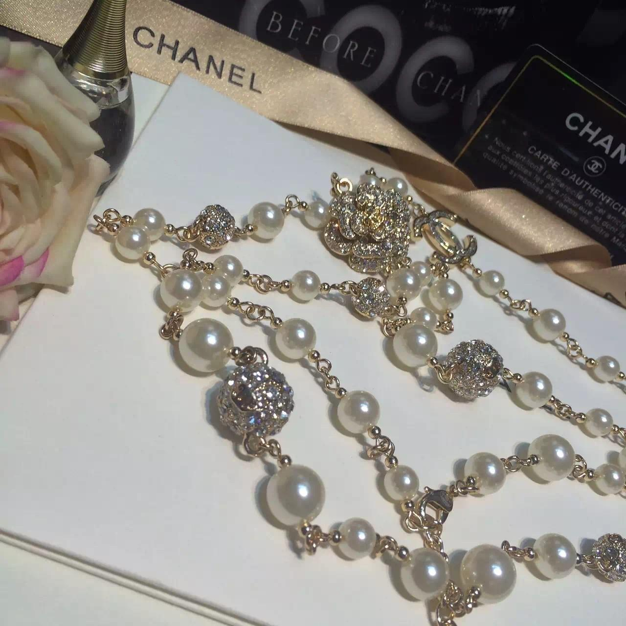 Copy Chanel Long Necklace Replica Jewelry