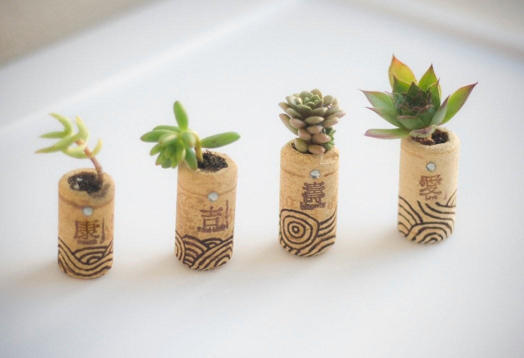 Cork Planters 221 Upcycling Ideas Blow Your