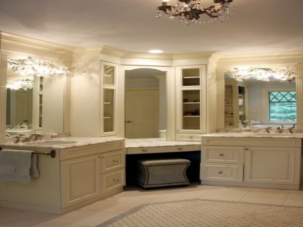 Corner Bathroom Vanity Design Decor Ideas