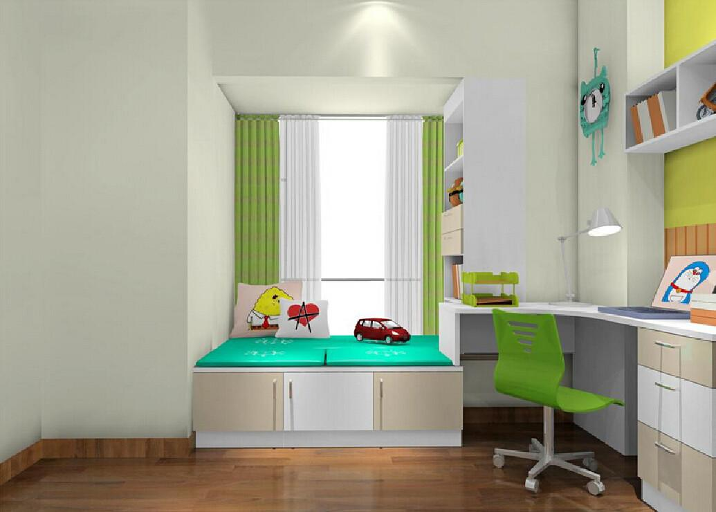 Corner Desk Windowsill Closet Children Bedroom