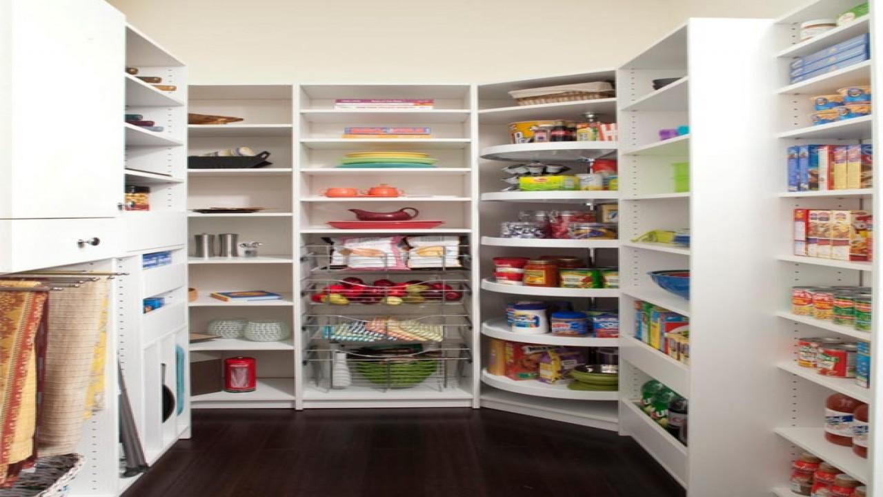 Corner Pantry Shelving Ideas Kitchen Door