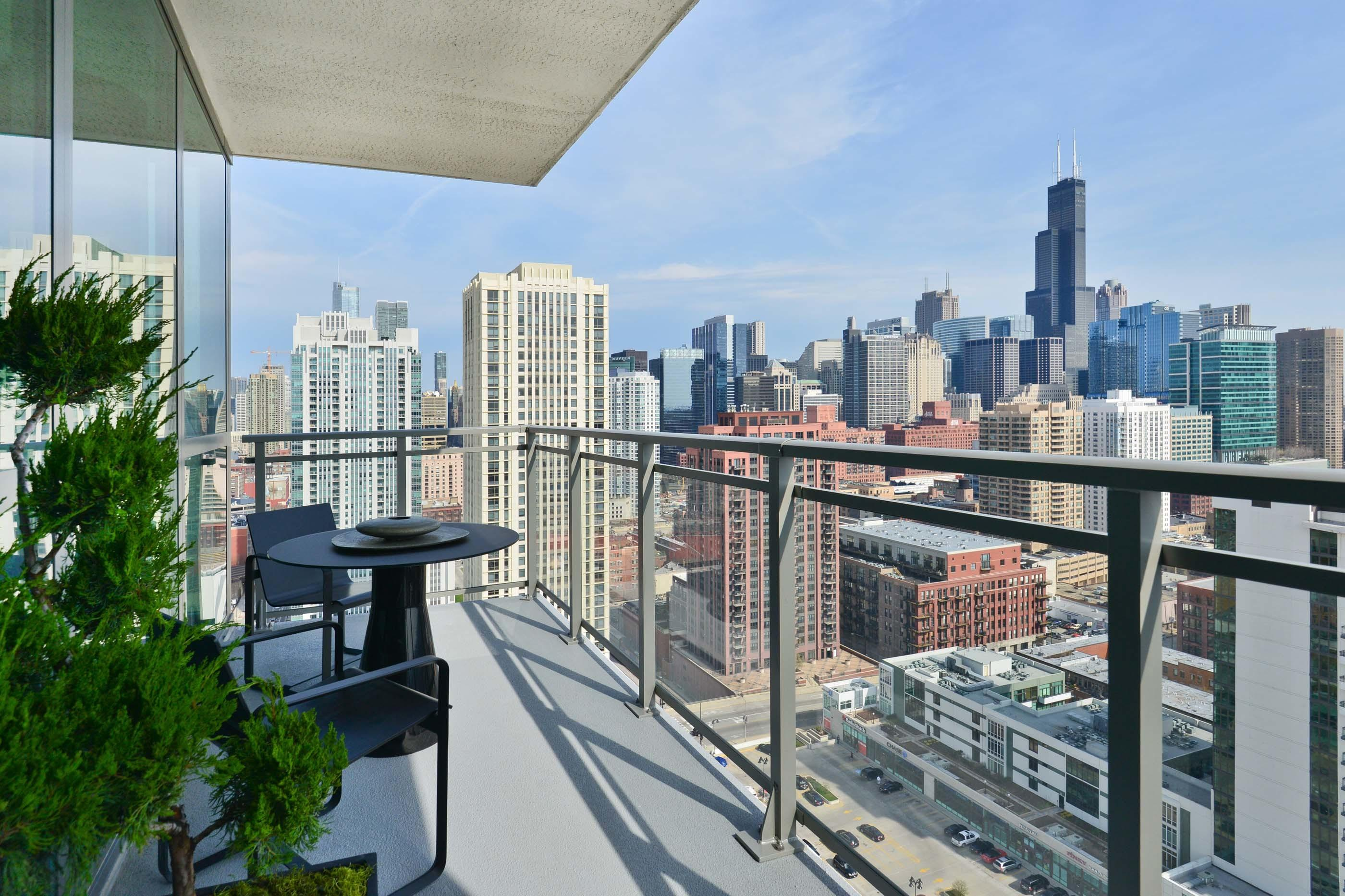Corner Two Bedrooms Skyline Views Available