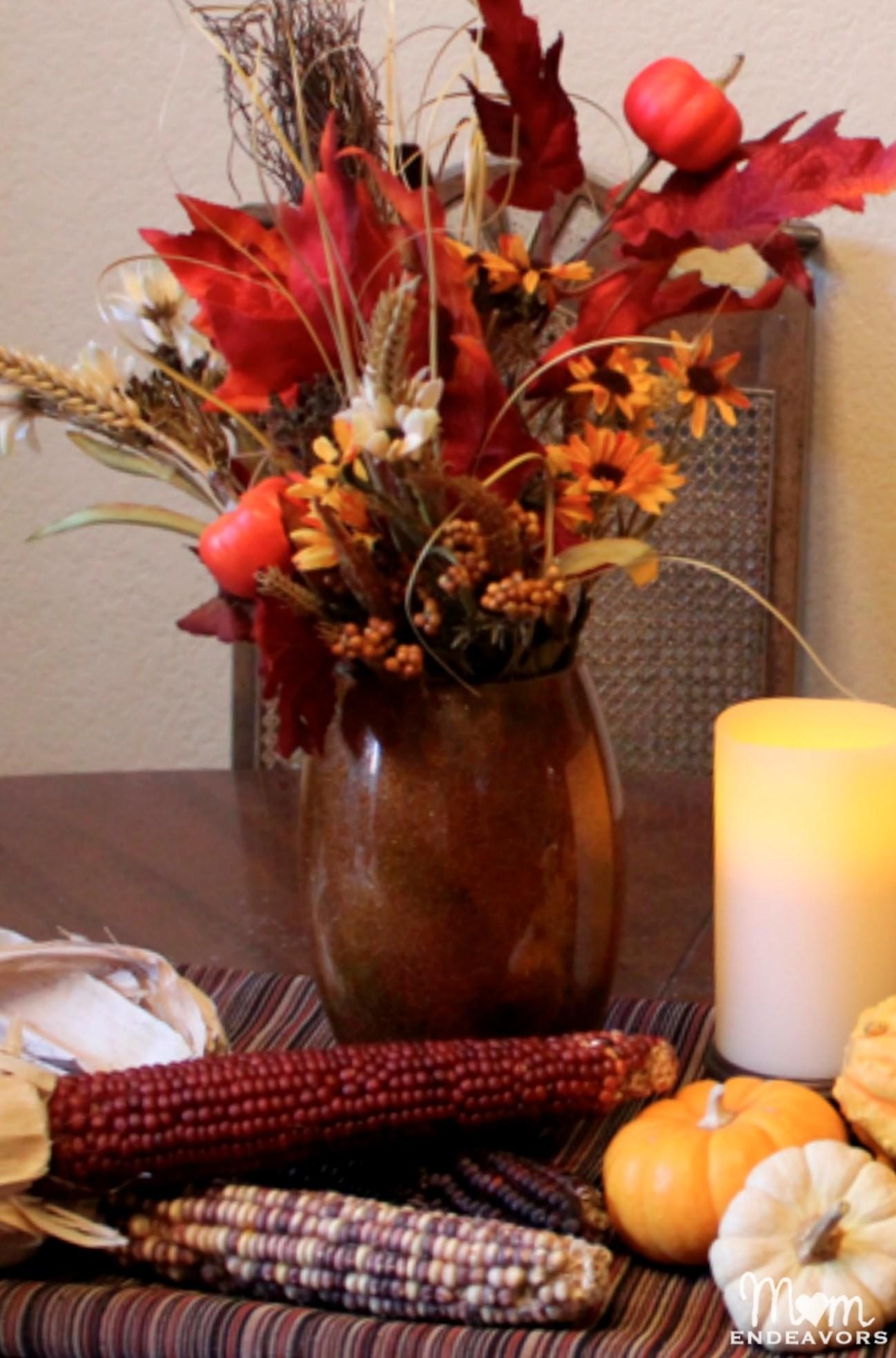 Cornucopia Creativity Diy Thanksgiving Table Decor